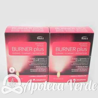Burner Plus de Arkopharma 2x60 cápsulas + Cuentapasos