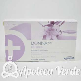 Ordesa Donnaplus Floboric 7 cápsulas vaginales