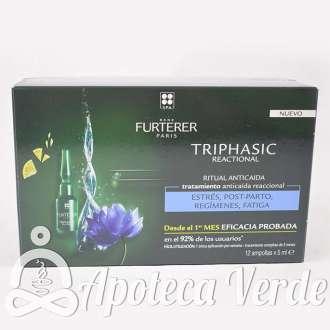 René Furterer Triphasic Reaccional Ampollas 12 ampollas