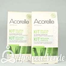 Pack Ahorro de 2 Kits completos de depilación de Acorelle