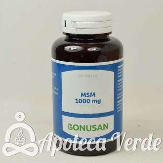 MSM 1000 mg de Bonusan 120 tabletas