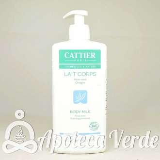 Leche Corporal Modeladora y Reafirmante Aloe Vera y Aceite de Onagra de Cattier 500 ml
