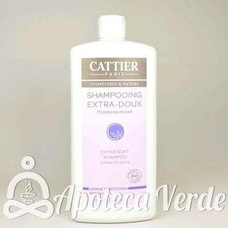 Champú Extra suave de Cattier 1L