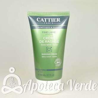 Crema de afeitar Bio de Cattier 150ml