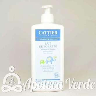 Leche limpiadora cara y cuerpo para Bebé de Cattier