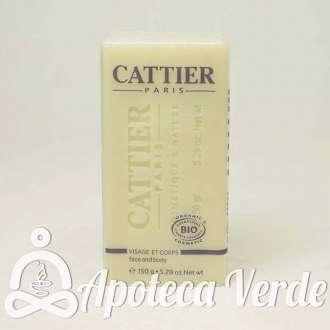 Jabón de Karité para pieles secas y sensibles de Cattier 150gr