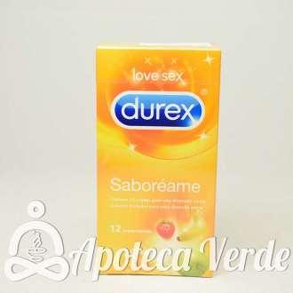 Preservativos Saboréame de durex 12 unidades