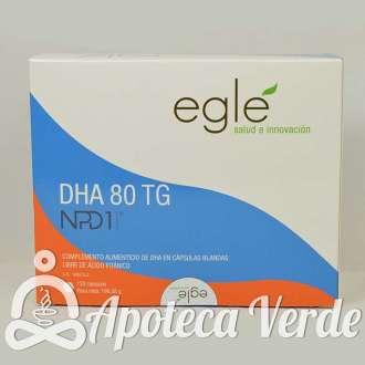 DHA 80 TG NPD1 de Laboratorio Eglé 120 cápsulas