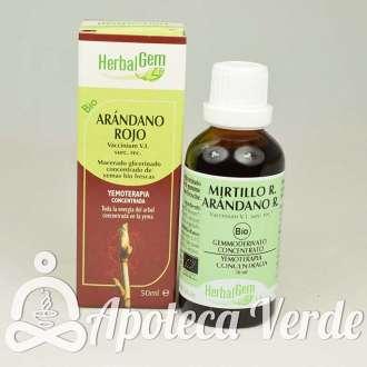 Arándano Rojo de HerbalGem 50 ml