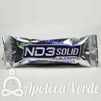 Barrita energética ND3 Solid Citrico cafeína de Infisport