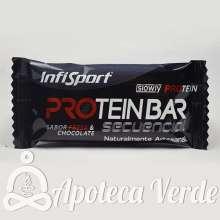 Barrita Protein Bar Sabor Chocolate/Chocolate de Infisport