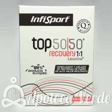 Top 50/50 Evo Leucina+ Sabor Chocolate de Infisport 1kg