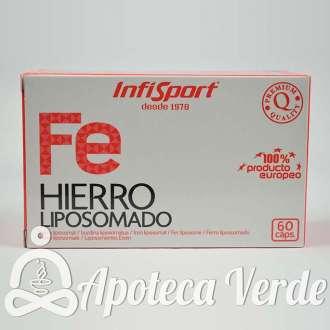 Fe Hierro Liposomado de Infisport 60 cápsulas