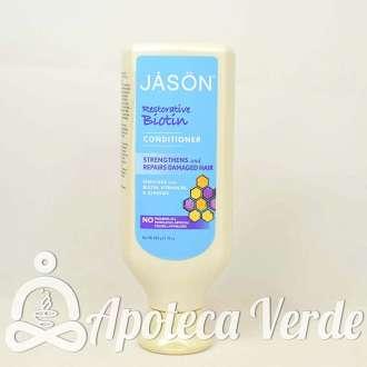 Acondicionador Biotina Natural de Jason 454g