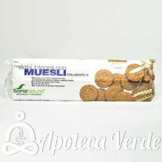 Galleta integral con muesli de Soria Natural 165g