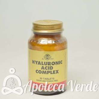 Ácido hilaurónico de Solgar 30 comprimidos