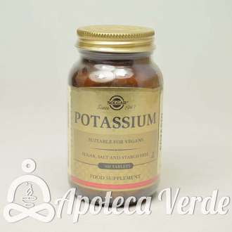 Potasio (Gluconato) Comprimidos de Solgar 100 comprimidos