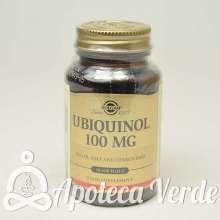 Ubiquinol 100 mg de Solgar 50 cáspulas blandas