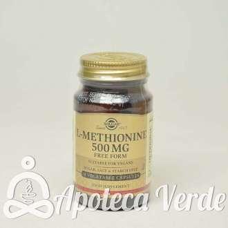 L-Metionina 500 mg de Solgar 30 cápsulas vegetales