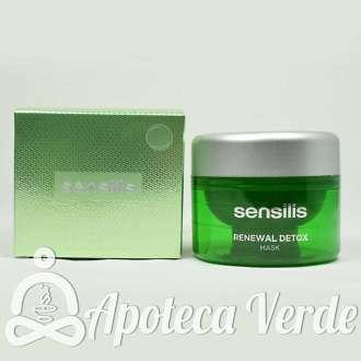 Mascarilla Renewal Detox de Sensilis 75ml