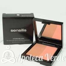 Colorete Hidratante bicolor Hydrablush 02 Bronze/Abricot de Sensilis 10g