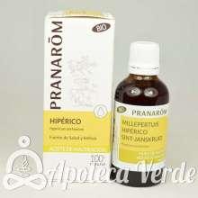 Aceite vegetal Bio de Hiperico de Pranarom 50ml