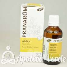 Aceite vegetal de Argán Bio de Pranarom 50 ml