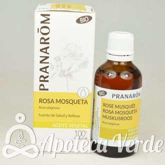 Aceite vegetal de Rosa de Mosqueta Bio de Pranarom 50ml
