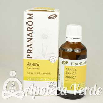Aceite vegetal de Árnica Bio de Pranarom 50ml