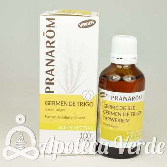 Aceite vegetal de Germen de Trigo Virgen de Pranarom 50ml