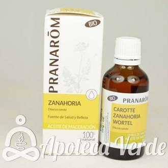 Aceite vegetal de Zanahoria Bio de Pranarom 50ml