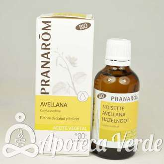 Aceite vegetal de Avellana Bio de Pranarom 50ml