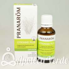 Mezcla para difusor Citronnel'plus de Pranarom 30ml