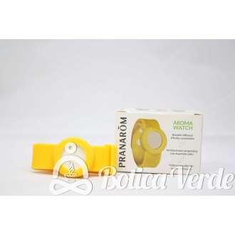 Pulsera Aroma Watch con cerámicas para impregnar aceites esenciales de Pranarom