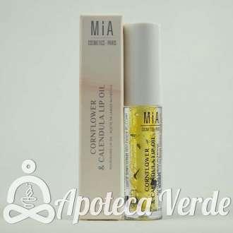 Mia Cosmetics Flowell Aceite de Labios Nutritivo Cornflower Caléndula