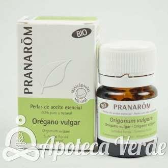 Pranarom Perlas Aceite Esencial de Orégano Bio