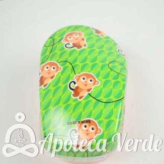 Beter Cepillo Desenredante Wild Verde Monos
