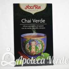 Yogi Tea Infusión Bio Chai Verde