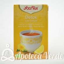 Yogi Tea Infusión Bio Detox con Limón