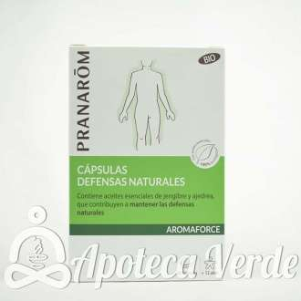 Pranarom Aromaforce Cápsulas Defensas Naturales Bio