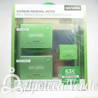 Sensilis Pack Supreme Renewal Detox