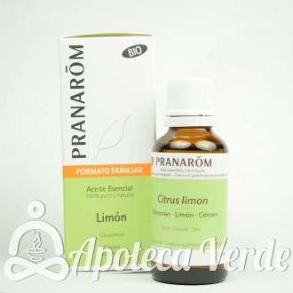 Aceite Esencial de Limón Bio Pranarom 30ml
