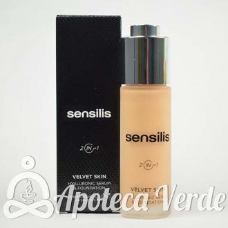 Sensilis Velvet Skin Maquillaje Serum Hialurónico