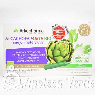 Alcachofa, hinojo, mate y uva Arkopharma
