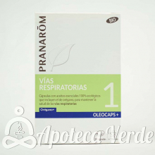 Pranarom Oleocaps Plus 1 Vías Respiratorias Bio
