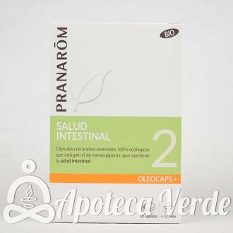 Pranarom Oleocaps Plus 2 Salud Intestinal Bio