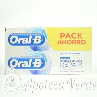 Oral-B Repair Original Pasta Dental Encias Esmalte
