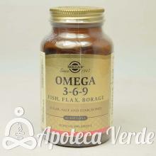 Omega 3-6-9 de Solgar 60 cápsulas blandas