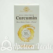 Curcumin Full Spectrum de Solgar 30 cápsulas blandas