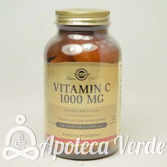 Vitamina C 1000 mg de Solgar 100 cápsulas vegetales